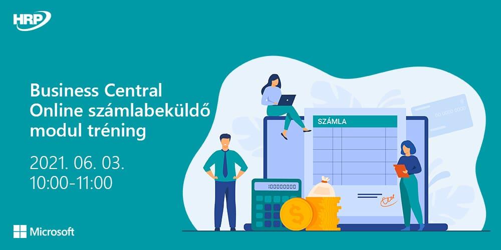 Business Central Online számlabeküldő modul tréning